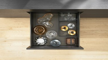 AMBIA-LINE inner dividing system – organization at its furniture, yellow