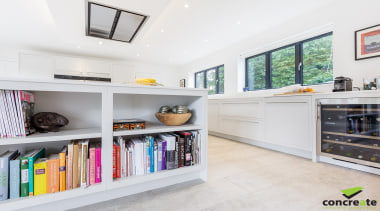 Concreate CF103 Beatrice 5127 - Concreate_CF103_Beatrice_5127 - interior interior design, kitchen, property, real estate, shelf, shelving, white