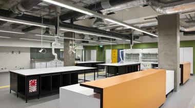 NOMINEEUndergraduate Laboratory 303 Building (1 of 4) interior design, office, product design, gray