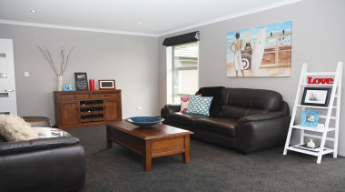 For more information, please visit www.gjgardner.co.nz home, interior design, living room, property, real estate, room, gray, black