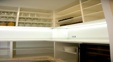 25 modern waiheke island  2014  10.jpg cabinetry, closet, furniture, interior design, room, shelf, shelving, brown, white