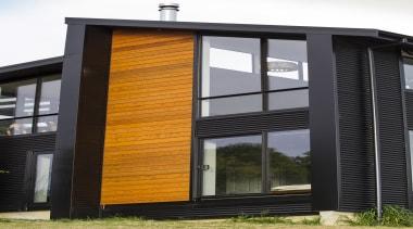 WaitakereHouse16 - Waitakere House 16 - architecture | architecture, building, facade, house, siding, window, black