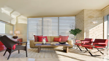 luxaflex pirouette shadings - luxaflex pirouette shadings - ceiling, chair, daylighting, floor, furniture, home, interior design, living room, real estate, room, window, window blind, window covering, window treatment, wood, gray