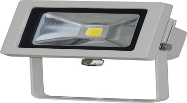 FeaturesThe Foco flood light has a very long lighting, product, product design, white, gray
