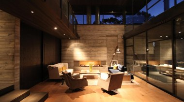 Westmere House - Westmere House - architecture   architecture, interior design, lobby, black, brown