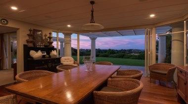 img1134.jpg - img1134.jpg - dining room | estate dining room, estate, home, house, interior design, real estate, room, table, window, wood, brown