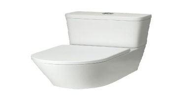 Understated Beauty combined with practical design for flexible angle, plumbing fixture, product, toilet, toilet seat, white