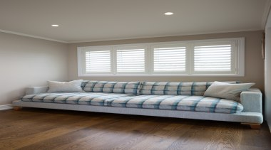 Customised Sofa - Customised Sofa - bed frame bed frame, bedroom, ceiling, couch, daylighting, floor, furniture, home, interior design, living room, room, wall, window, window covering, wood, gray