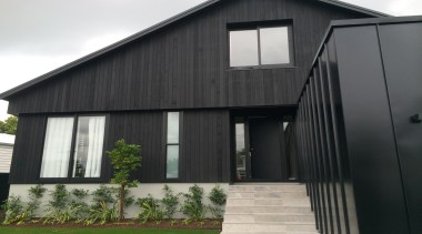 Kenny Rd. house 2.1 - Kenny Rd. house architecture, barn, building, facade, home, house, property, real estate, siding, window, black