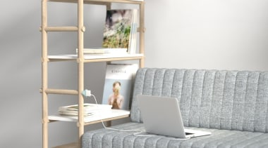 Versatility is the key to being at the furniture, product, product design, shelf, shelving, white, gray