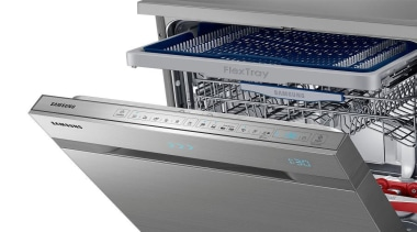 Dishwashers DW60H9970FSRevolutionise dish duty with WaterWall™ Technology. Only home appliance, kitchen appliance, major appliance, product, product design, gray, white