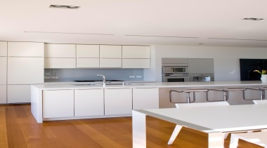 Hawkes Bay Kitchen of the Year 2009National Kitchen countertop, floor, interior design, kitchen, real estate, room, white