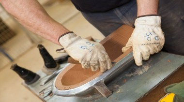 The raw beauty of hand crafted Monier terracotta footwear, hand, shoe, orange