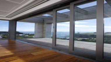 Waiheke - Full Height Cavity Stackers - waiheke architecture, daylighting, door, glass, house, interior design, real estate, structure, window, gray