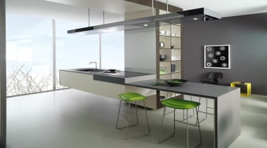 Laminex Solid Surface helps create inspirational interiors with countertop, furniture, glass, interior design, kitchen, product design, table, gray