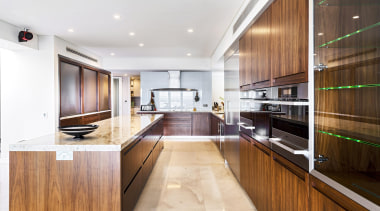 Winner Kitchen of the Year 2013 Western Australia countertop, interior design, kitchen, real estate, white, brown