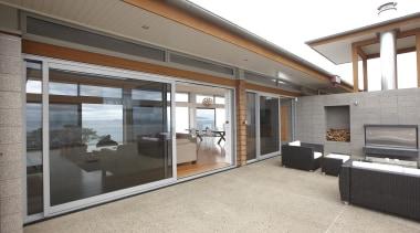 Waipu - Thermal Euroslider - waipu - door door, house, interior design, property, real estate, window, white, gray