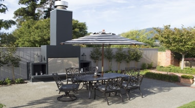 View our patio collection and latest outdoor backyard, house, outdoor structure, patio, property, real estate, roof, gray