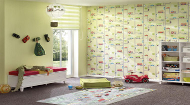 The new Boys and Girls Collection is a curtain, furniture, home, interior design, room, textile, wall, window, window covering, window treatment, yellow