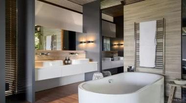 See the bathroom bathroom, interior design, room, gray, black