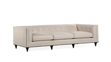 The work of William Sofield is defined not angle, couch, furniture, loveseat, outdoor sofa, product design, studio couch, white