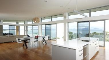 Waipu - Overlite Windows - waipu - architecture architecture, ceiling, daylighting, floor, house, interior design, kitchen, property, real estate, window, white, gray