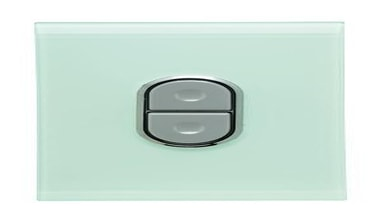 Saturn 250V range switch Ocean Mist - 406145-OM electronic device, light switch, switch, technology, white