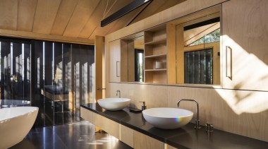 Strachan Group Architects – Highly Commended - 2015 Trends architecture, bathroom, interior design, brown, black