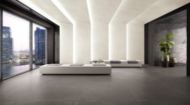 Slate Natural - Slate Natural - architecture | architecture, ceiling, daylighting, floor, flooring, interior design, laminate flooring, lobby, tile, wall, wood flooring, white, gray
