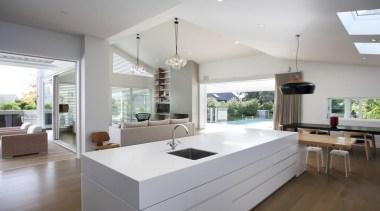 Felton's Nova range retains the charm of traditional, architecture, house, interior design, kitchen, living room, real estate, gray