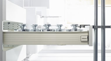 METABOX drawers and pull-outs have just a few furniture, kitchen, product, product design, tap, white, gray