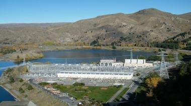 NOMINEEHVDC Pole 3 (3 of 4) - Warren city, lake, reservoir, water resources, gray