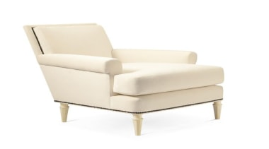 """""""Upholstery helps set the foundation for how a angle, armrest, chair, club chair, furniture, product, product design, white"""