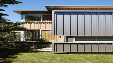 Parnell, Auckland - Nikau House - architecture | architecture, building, elevation, facade, home, house, property, real estate, residential area, siding, gray, black