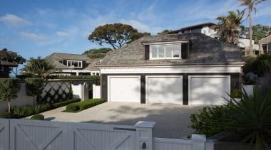 Garage - building   cottage   elevation   building, cottage, elevation, estate, facade, home, house, property, real estate, residential area, roof, villa, window, gray