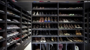 Walking wardrobe for your shoes - Walking Wardrobe closet, inventory, product, black