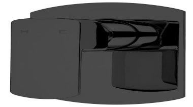 Sprint Black Shower Mixer SBK030 - Sprint Black angle, product, product design, black