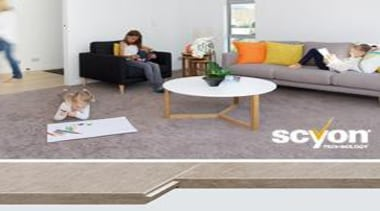Secura Interior Flooring - Secura Interior Flooring 2 floor, flooring, furniture, hardwood, laminate flooring, living room, property, table, tile, wood, wood flooring, gray, white