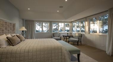 Master bedroom - Master bedroom - bedroom   bedroom, ceiling, estate, home, interior design, property, real estate, room, window, gray