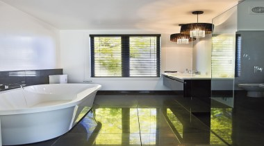 For more information, please visit www.gjgardner.co.nz architecture, bathroom, floor, interior design, real estate, room, gray