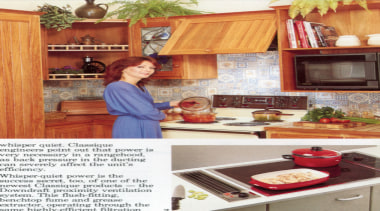 ....with Classique appliances. - Back through the year..... cabinetry, countertop, cuisine classique, furniture, home, home appliance, interior design, kitchen, kitchen appliance, room, white