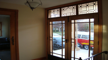 100 year old walnut double doors with bevelled door, glass, interior design, real estate, window, window covering, brown