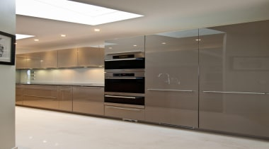 Mt Victoria Kitchen - Mt Victoria Kitchen - cabinetry, countertop, home appliance, interior design, kitchen, major appliance, room, gray