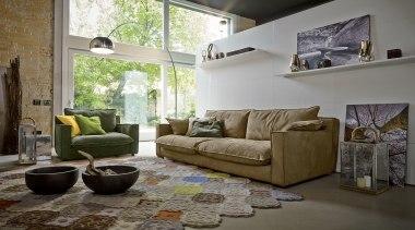PRIANERA Nesting - PRIANERA Nesting - chair | chair, couch, floor, flooring, furniture, home, interior design, living room, loveseat, room, table, window, gray, brown