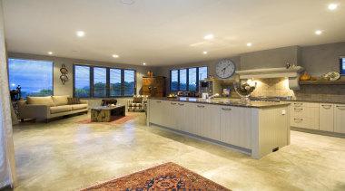 166mangawhai 8 - mangawhai_8 - countertop | estate countertop, estate, floor, flooring, hardwood, interior design, kitchen, property, real estate, room, orange
