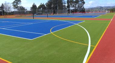 Pre-school, primary & seconday education - Pre-school, primary area, artificial turf, ball game, grass, line, plant, sport venue, sports, stadium, structure, team sport, green