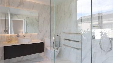 Landmark Homes Design & Build Bathroom - Landmark architecture, bathroom, interior design, plumbing fixture, product design, room, tap, gray