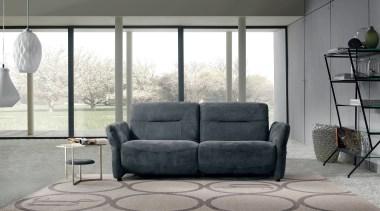 PRIANERA Canova - PRIANERA Canova - angle | angle, chair, couch, floor, furniture, home, interior design, living room, loveseat, recliner, sofa bed, table, window, gray, white