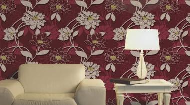Statements Range - Statements Range - decor | decor, design, interior design, living room, pattern, purple, wall, wallpaper, red, gray