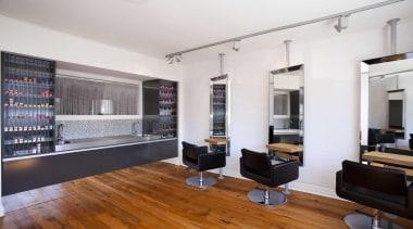 Salon interior design by Yellowfox - Salon - apartment, interior design, living room, real estate, white